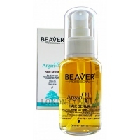 BEAVER Argan Oil Hair Serum - Восстанавливающая сыворотка с аргановым маслом
