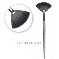 KARAJA Racoon Fan Brush № 11 - Кисть-веер