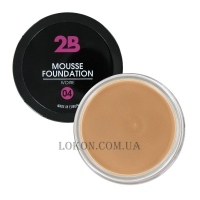 2В Mousse Foundation - Основа-мусс под макияж