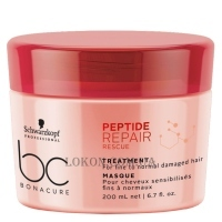 SCHWARZKOPF BC Peptide Repair Rescue Treatment - Восстанавливающая маска