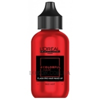 L'OREAL Colorfulhair Flash Pro Hair Make-Up Red Hot - Краска-макияж для волос