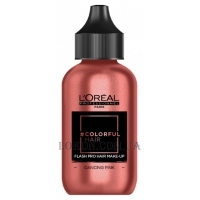 L'OREAL Colorfulhair Flash Pro Hair Make-Up Dancing Pink - Краска-макияж для волос