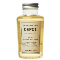 DEPOT 601 Gentle Body Wash Classic Cologne - Гель для душа
