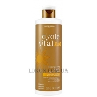 EUGENE PERMA Cycle Vital Nature Shampoo Shower after Sun - Шампунь-гель после солнца