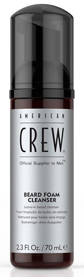 AMERICAN CREW Beard Foam Cleanser - Очищающая пена для бороды