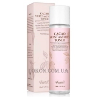 BENTON Cacao Moist and Mild Toner - Тонер с маслом какао