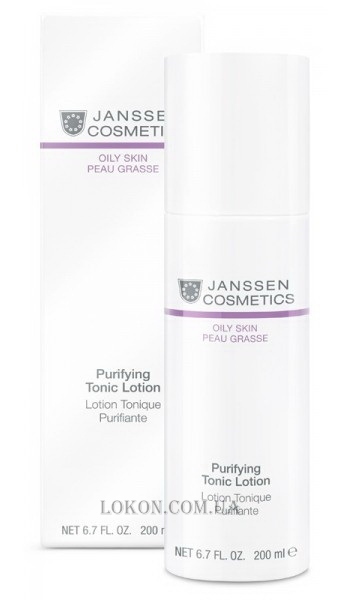 JANSSEN Oily Skin Purifying Tonic Lotion - Тоник для жирной кожи