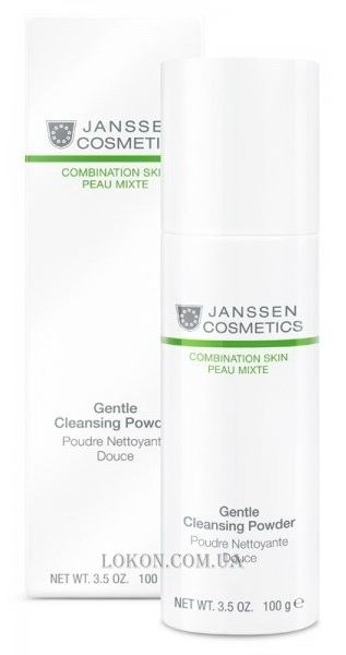 JANSSEN Combination Skin Gentle Cleansing Powder - Очищающая пудра