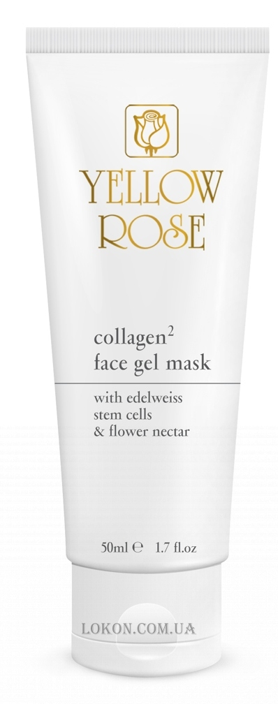 YELLOW ROSE Collagen2 Gel Mask - Гелевая маска с коллагеном