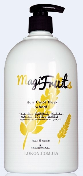 KLERAL SYSTEM MagiFruits Color Mask Wheat - Тонирующая маска