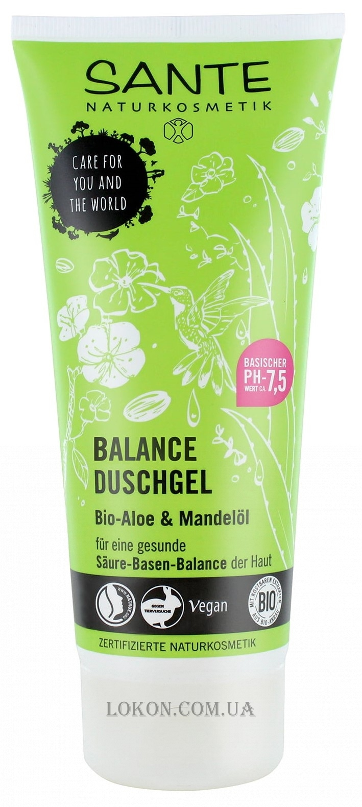 SANTE Shower Gel Balance - Гель для душа
