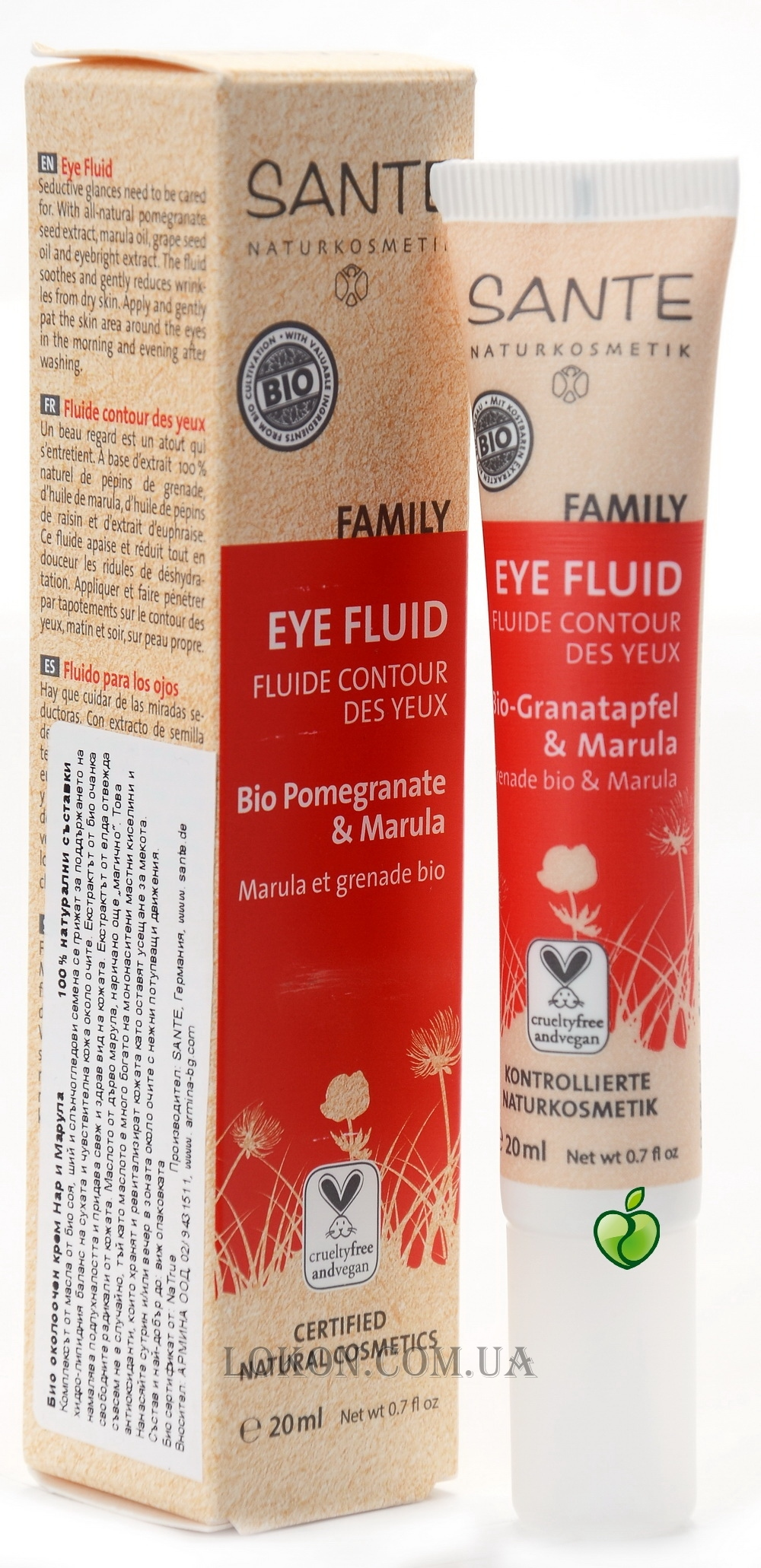 SANTE Family Eye Fluid Pomegranate & Marula - Крем для глаз