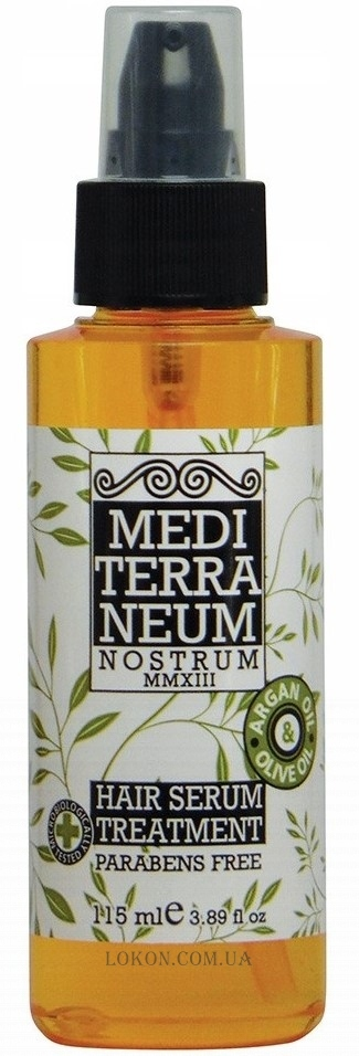 MEDITERRANEUM NOSTRUM Hair Serum Treatment - Сыворотка для волос