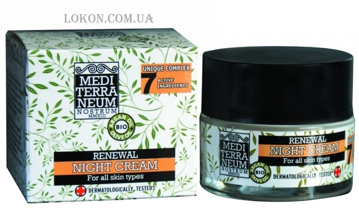 MEDITERRANEUM NOSTRUM Renewal Night Cream - Ночной крем для лица