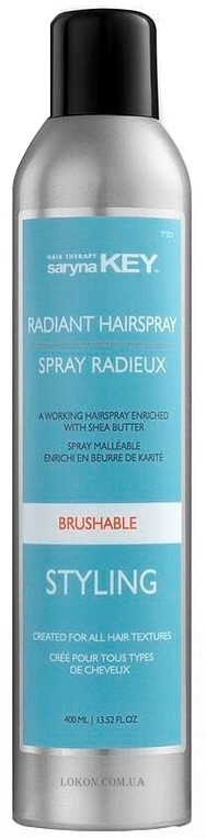 SARYNA KEY Styling Brushable Radiant Hairspray - Лак для волос