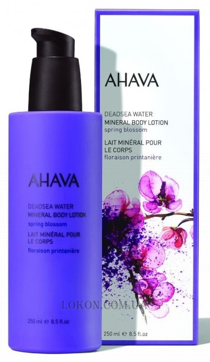 AHAVA Deadsea Water Mineral Body Lotion Spring Blossom - Минеральный лосьон для тела