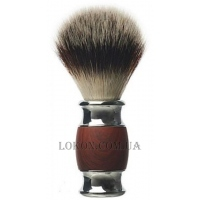 DEPOT Shaving Brush - Помазок для бритья из дерева и алюминия