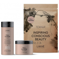 LAKME Teknia Full Defense Travel Pack - Дорожный набор