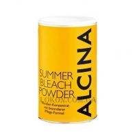 ALCINA Summer Bleach Powder - Обесцвечивающая пудра с запахом кокоса