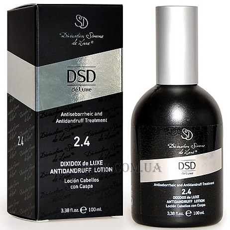 DIVINATION SIMONE DE LUXE Dixidox Deluxe Antidandruff Lotion 2.4 - Лосьон от перхоти Диксидокс Де Люкс
