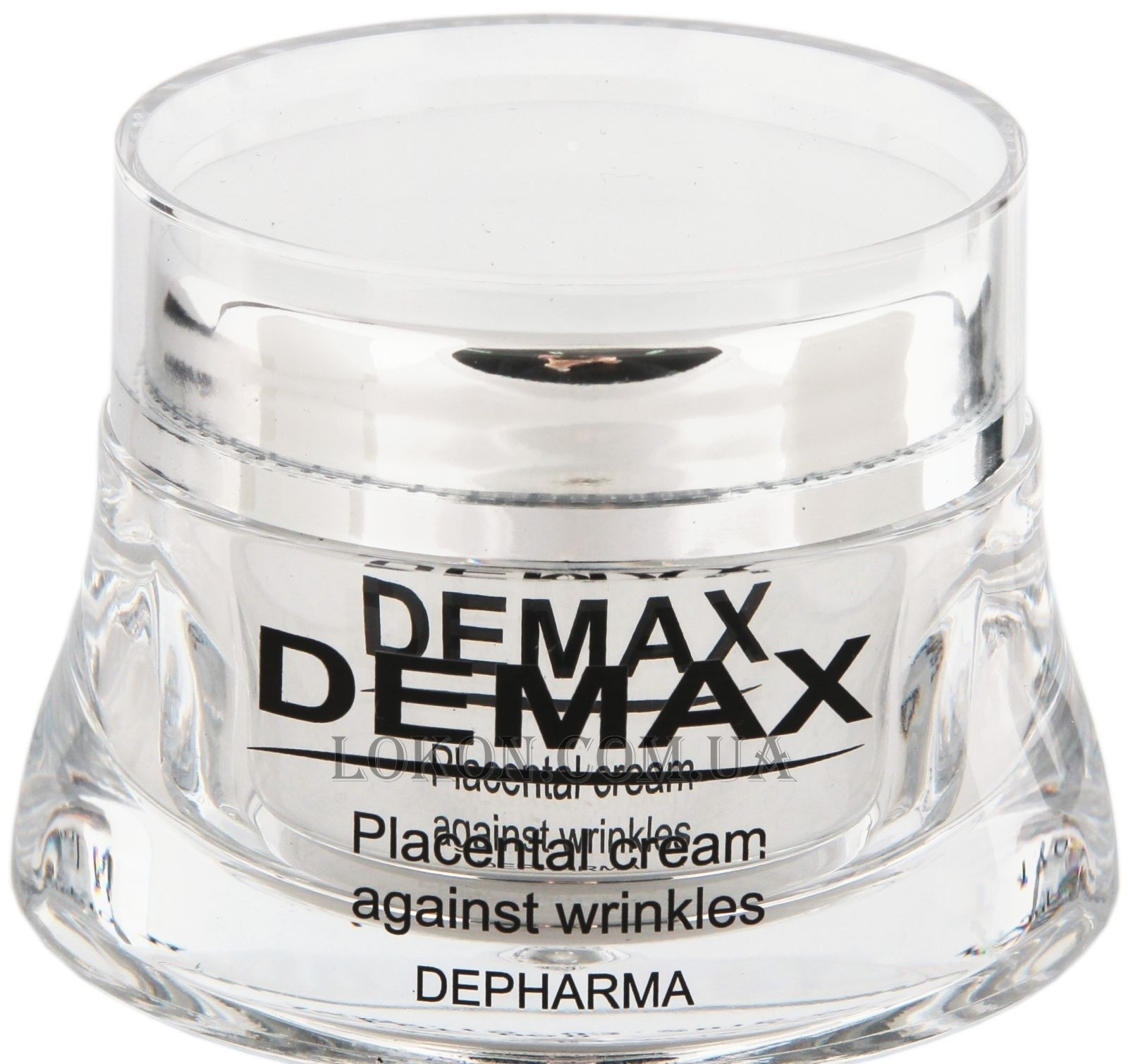 DEMAX Placental Cream Against Wrinkles - Плацентарный крем