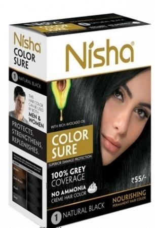 Безаммиачная краска для волос маслом